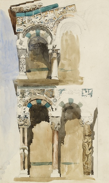 Pencil「Part Of The Facade Of The Destroyed Church Of San Michele In Foro」:写真・画像(4)[壁紙.com]