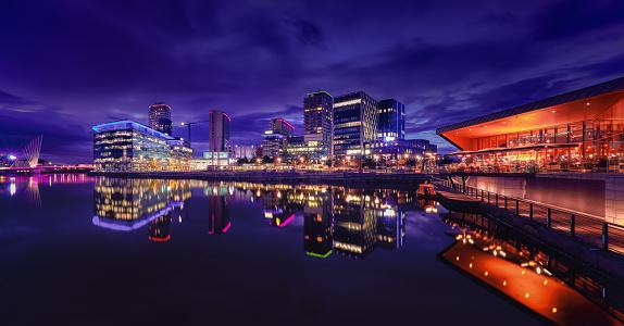 The Media「MediaCity UK, Salford Quays, Manchester」:スマホ壁紙(11)