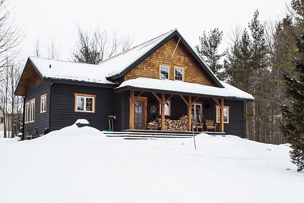 Winter Cottage:スマホ壁紙(壁紙.com)