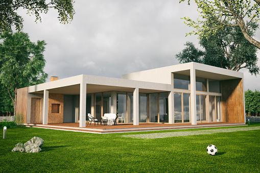Villa「Modern House」:スマホ壁紙(17)