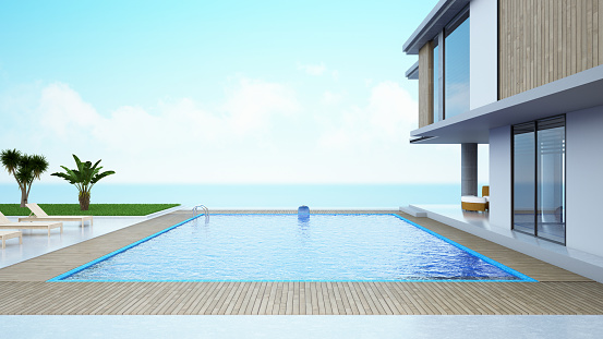 Sea「Modern House with Private Swimming Pool」:スマホ壁紙(12)