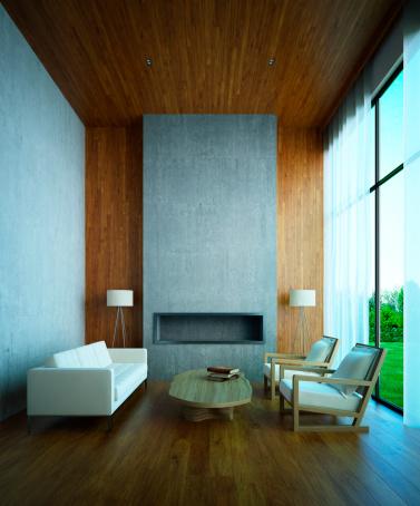 Villa「Modern House Interior」:スマホ壁紙(8)