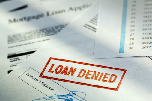 """Sadness「Mortgage Application Borrower Document with """"Loan Denied"""" Red Rubber Stamp」:スマホ壁紙(6)"""