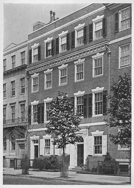Entrance Front, House Of Miss Anne Morgan, Sutton Place, New York City, 1924:ニュース(壁紙.com)