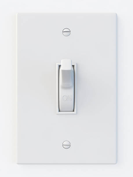 White light switch in the on position:スマホ壁紙(壁紙.com)