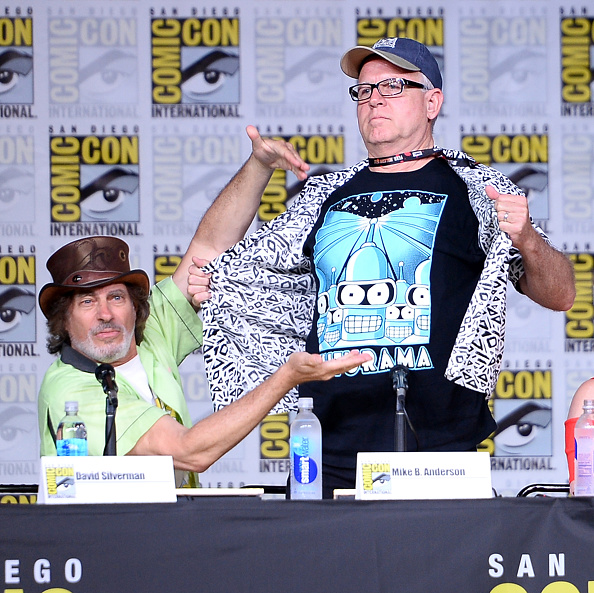 "David Silverman「Comic-Con International 2016 - "" The Simpsons"" Panel」:写真・画像(11)[壁紙.com]"