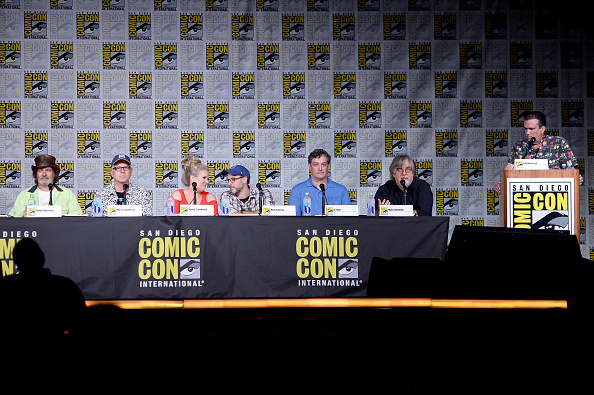 "David Silverman「Comic-Con International 2016 - "" The Simpsons"" Panel」:写真・画像(12)[壁紙.com]"
