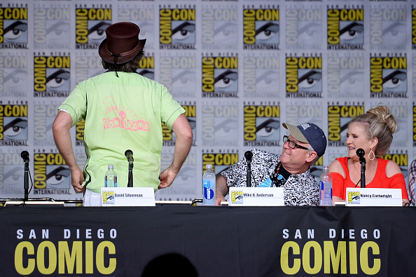 "David Silverman「Comic-Con International 2016 - "" The Simpsons"" Panel」:写真・画像(10)[壁紙.com]"