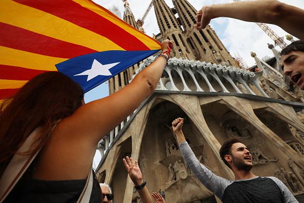 Sagrada Familia - Barcelona「Aftermath Of The Catalonian Independence Referendum」:写真・画像(6)[壁紙.com]