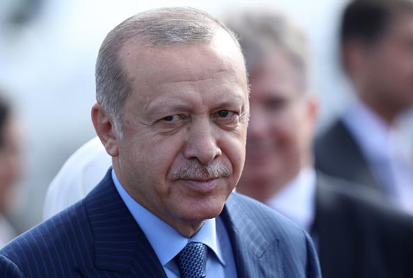 President「Turkish President Erdogan Visits Berlin」:写真・画像(19)[壁紙.com]