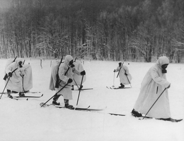 Ski Pole「Finnish Troops」:写真・画像(1)[壁紙.com]