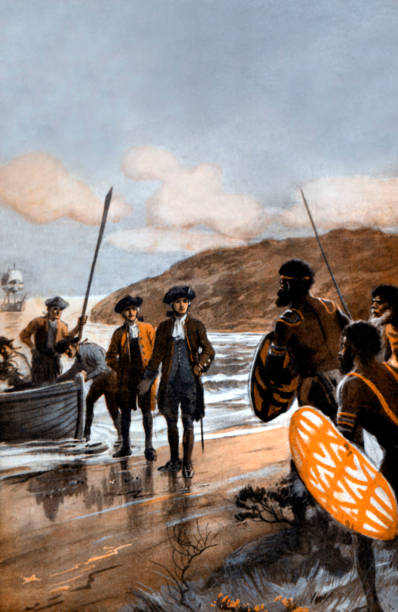 Captain Cook Lands At Botany Bay:ニュース(壁紙.com)