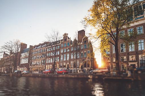 Amsterdam「Canal boat tour in Amsterdam」:スマホ壁紙(6)