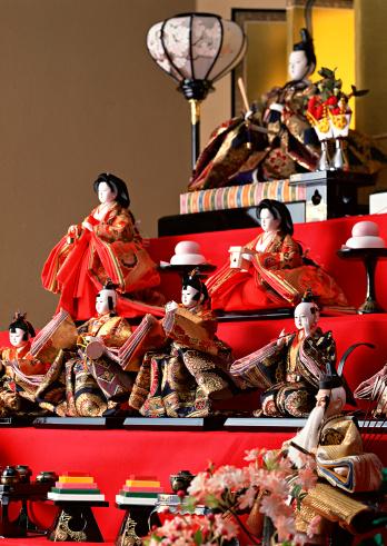 ひな祭り「Dolls for the Doll Festival」:スマホ壁紙(1)