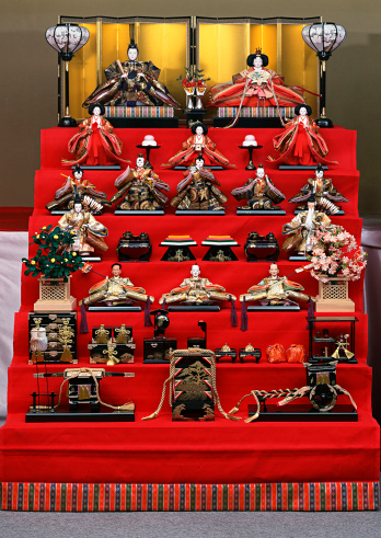 Hinamatsuri「Dolls for the Doll Festival」:スマホ壁紙(6)