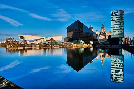 Liverpool - England「Canning Dock, Liverpool, United Kingdom」:スマホ壁紙(16)
