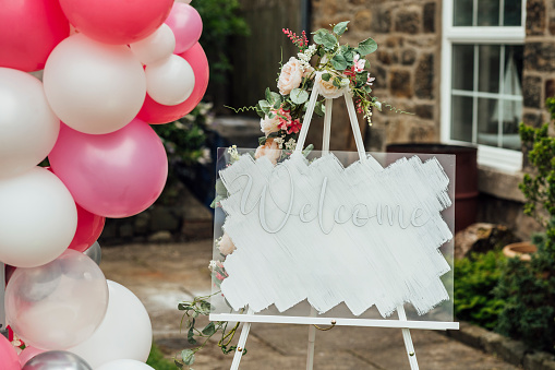 Entertainment Tent「Welcome Sign For a Baby Shower」:スマホ壁紙(6)