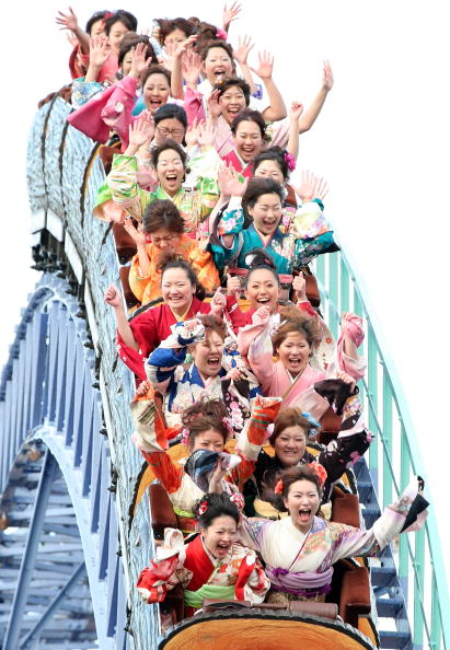 Amusement Park Ride「Coming-Of-Age Ceremonies In Japan」:写真・画像(18)[壁紙.com]