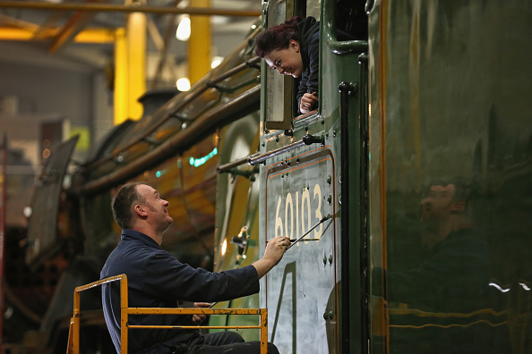 York - Yorkshire「Finishing Touches Are Applied To The Newly-renovated Flying Scotsman」:写真・画像(7)[壁紙.com]