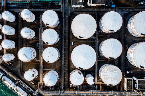 Oil Industry「Oil tank in Hong Kong」:スマホ壁紙(3)