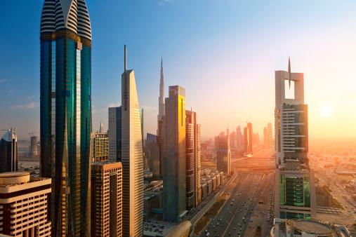 Sheikh Zayed Road「Sheikh Zayed road, Dubai」:スマホ壁紙(18)