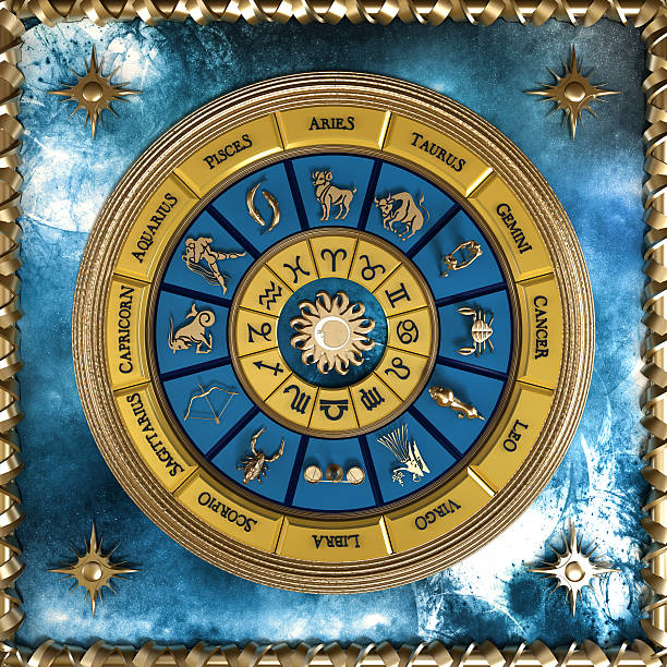 Zodiac wheel:スマホ壁紙(壁紙.com)