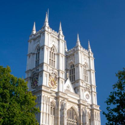 Westminster Abbey「Twin towers of Westminster Abbey.」:スマホ壁紙(13)