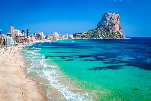 Mediterranean Sea「Peñon de Ifach-Comunidad Autonoma de Valencia, Spain」:スマホ壁紙(13)