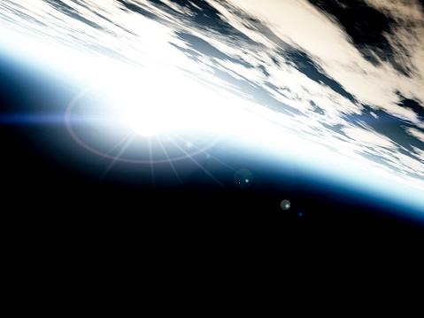 空気感「太陽の中で、スペース」:スマホ壁紙(5)