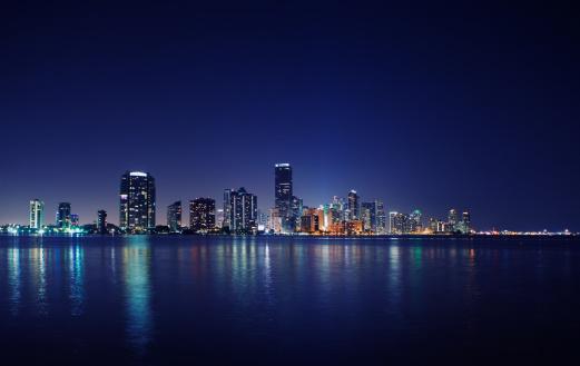 Miami Beach「マイアミの夜」:スマホ壁紙(12)
