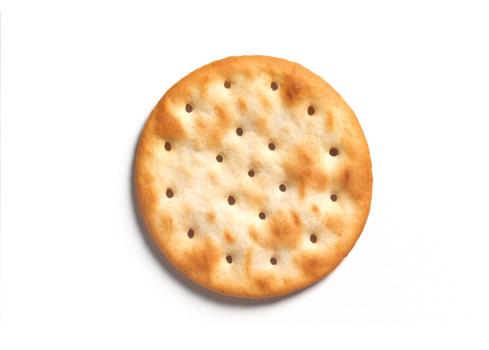 Cracker - Snack「Round cracker with copy space」:スマホ壁紙(14)