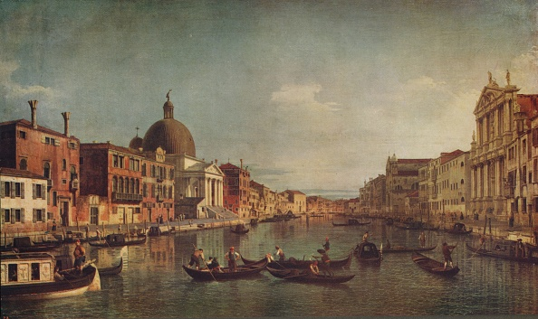 18th Century Style「A View On The Grand Canal Venice」:写真・画像(11)[壁紙.com]