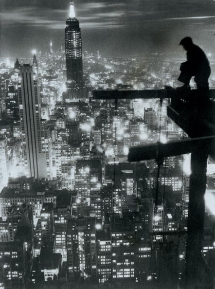 Empire State Building「View from the R.C.A. Building」:写真・画像(12)[壁紙.com]