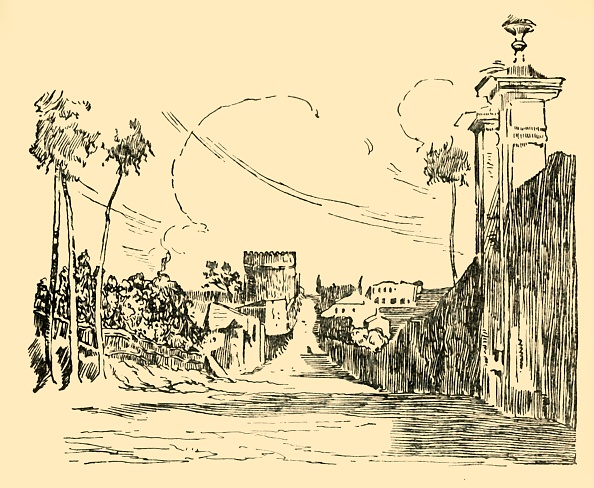 T 「A View On The Appian Way As It Is To-Day」:写真・画像(19)[壁紙.com]