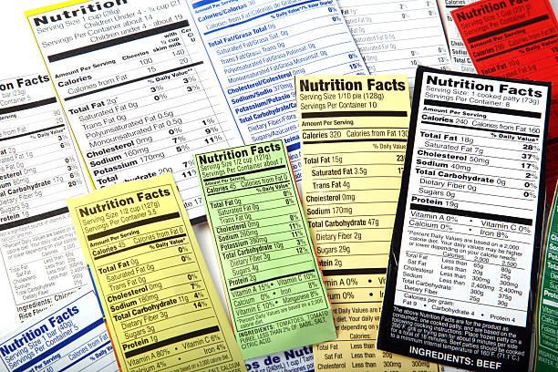 Nutrition Label giving information on good food choices.:スマホ壁紙(壁紙.com)