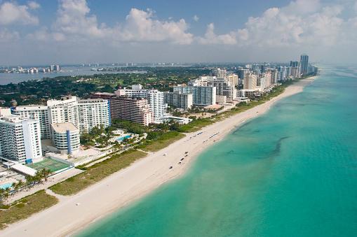 Miami Beach「バルハーバーにマイアミビーチ」:スマホ壁紙(1)