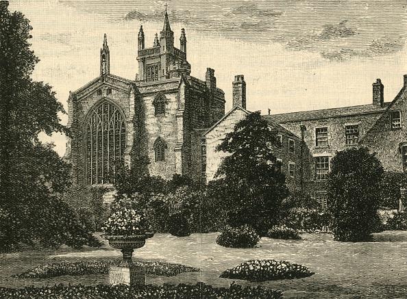 Flowerbed「The College Chapel」:写真・画像(17)[壁紙.com]