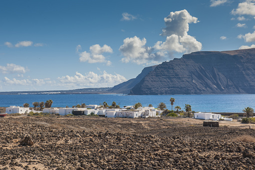 La Graciosa - Canary Islands「Pedro Barba village」:スマホ壁紙(4)