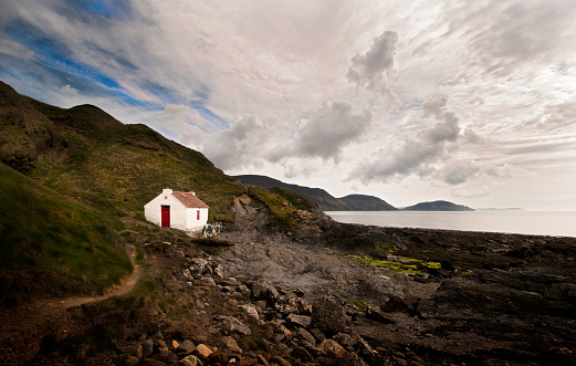 Isle of Man「Isolated sea side cottage with sweeping sea view」:スマホ壁紙(1)