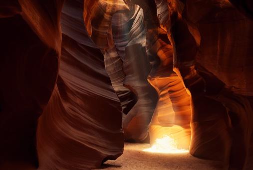 Choosing「Sunbeam in Antelope Canyon」:スマホ壁紙(12)
