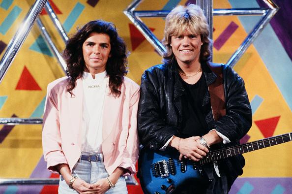 話す「Modern Talking beim WWF Club 1986」:写真・画像(9)[壁紙.com]