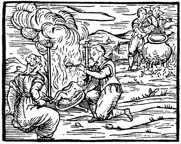 17th Century「Witches Roasting And Boiling Infants 1608 (19th Century)」:写真・画像(16)[壁紙.com]