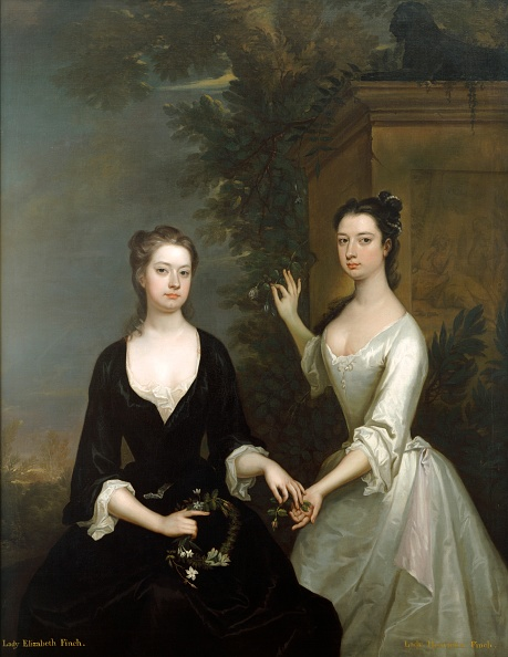 18th Century「Lady Elizabeth And Lady Henrietta Finch」:写真・画像(5)[壁紙.com]