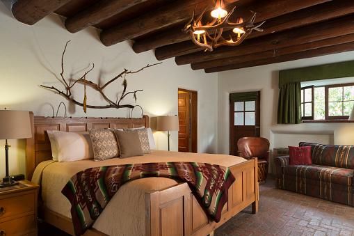 Santa Fe - New Mexico「Southwest bedroom」:スマホ壁紙(4)