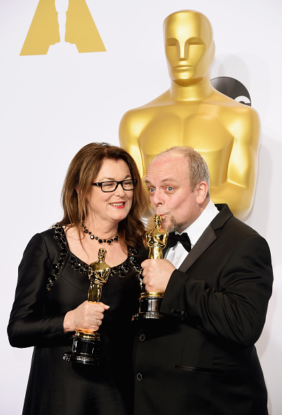 Best Makeup and Hairstyling「87th Annual Academy Awards - Press Room」:写真・画像(12)[壁紙.com]