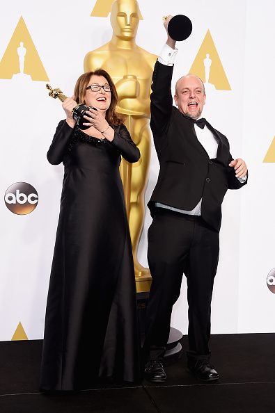 Best Makeup and Hairstyling「87th Annual Academy Awards - Press Room」:写真・画像(11)[壁紙.com]