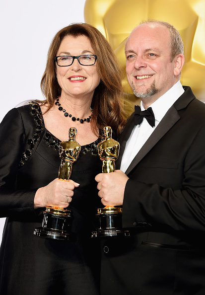 Best Makeup and Hairstyling「87th Annual Academy Awards - Press Room」:写真・画像(14)[壁紙.com]
