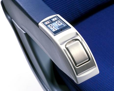 Passenger Cabin「audio control in armrest of airplane seat」:スマホ壁紙(15)