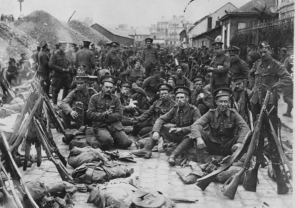 World War I「Fresh Troops」:写真・画像(13)[壁紙.com]