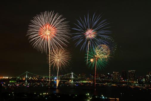 花火「Tokyo Bay Fireworks」:スマホ壁紙(5)